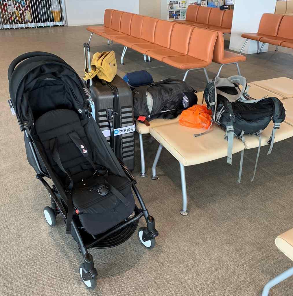 Reizen met baby betekent veel bagage