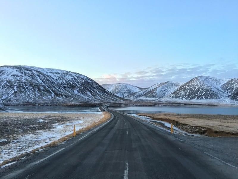 Winter road trip Ijsland