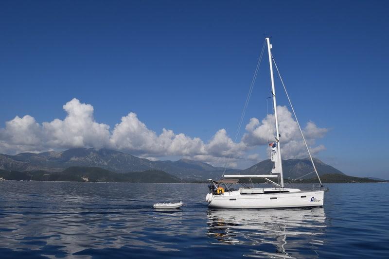 Zeilboot in Griekenland