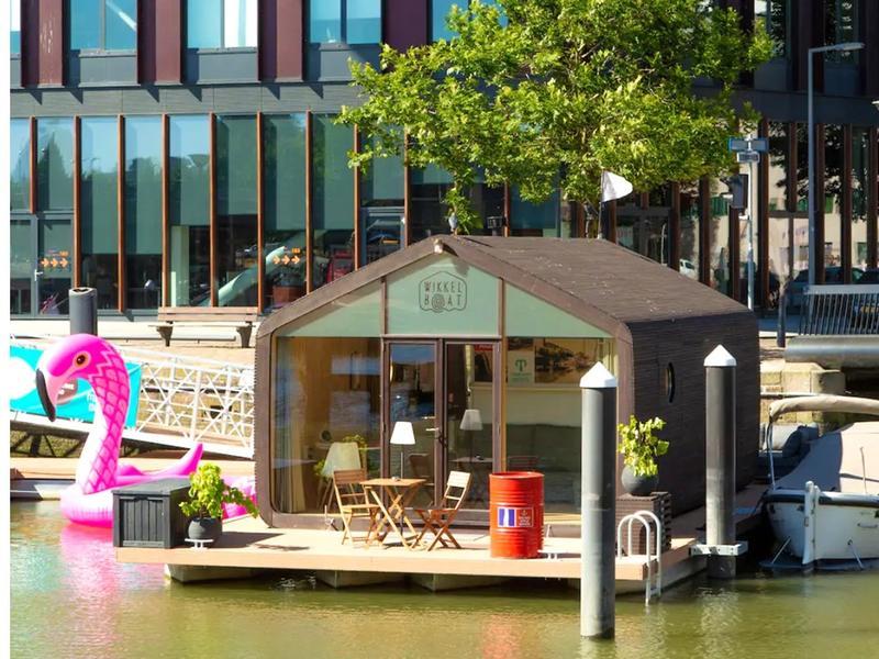De Wikkelboot in Rotterdam