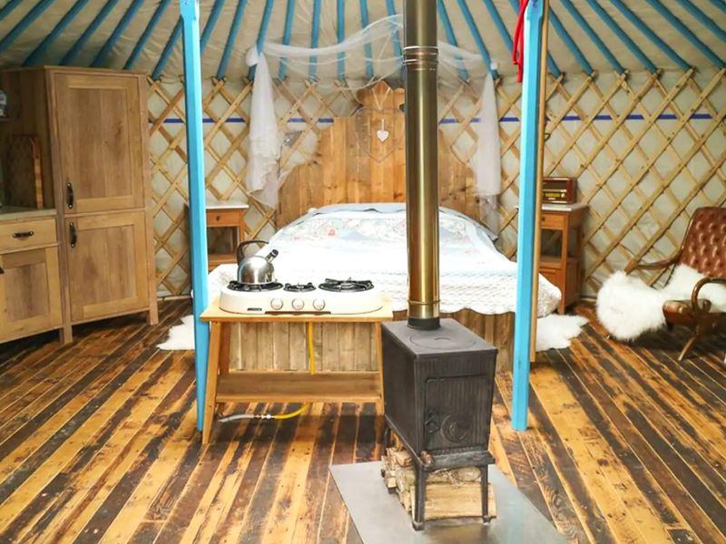 Mongoolse Yurt in Noord-Holland