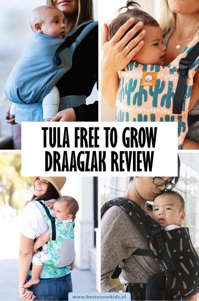 In deze uitgebreide Tula Free To Grow review lees je alles over de Tula Free to Grow draagzak die je direct vanaf de geboorte kunt gebruiken. #Tula #review #draagzak