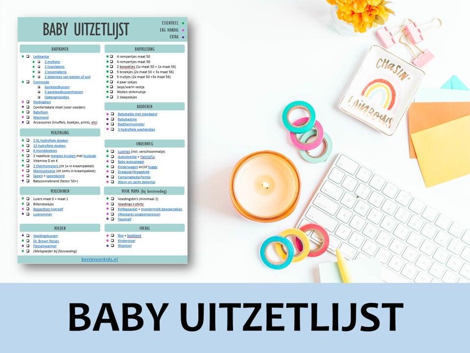 Babyuitzetlijst