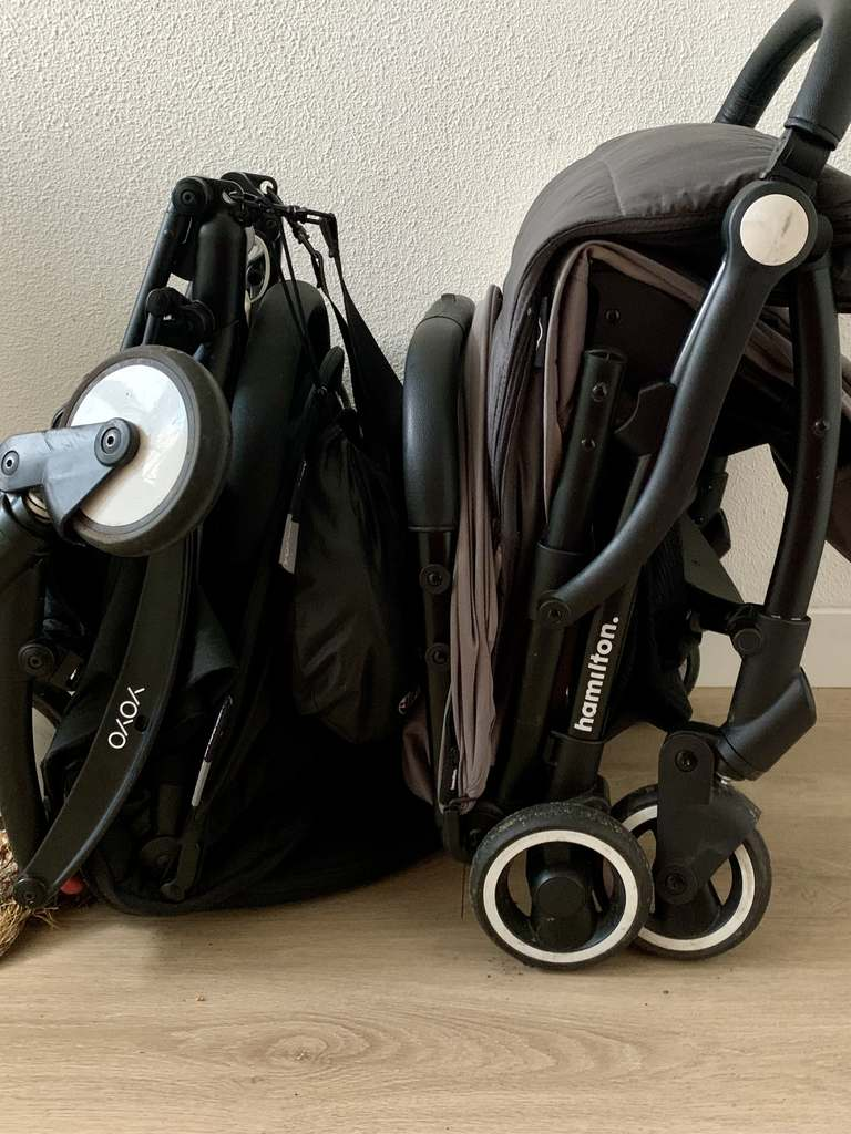 Hamilton X1 one prime stroller vs Yoyo Babyzen stroller