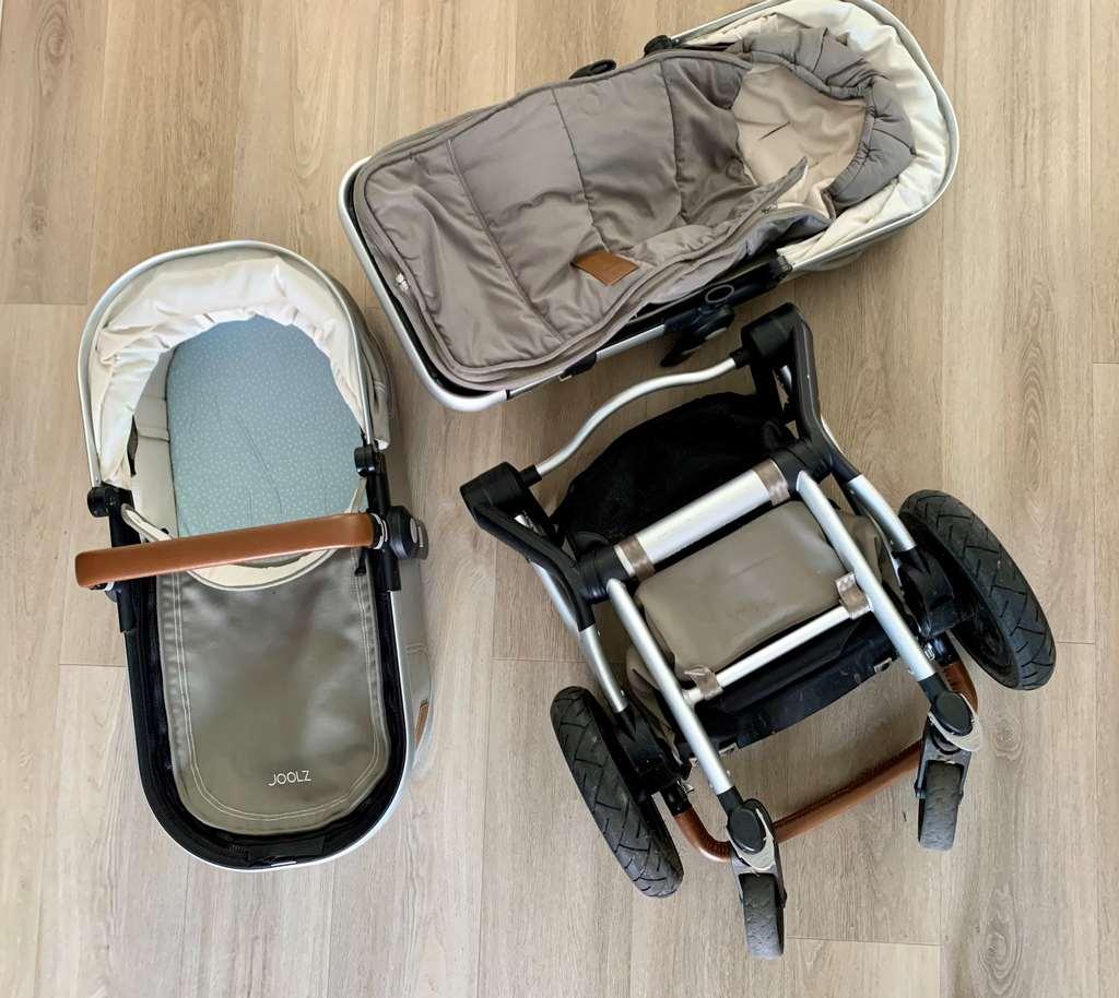 Joolz kinderwagen met reiswieg en zitje